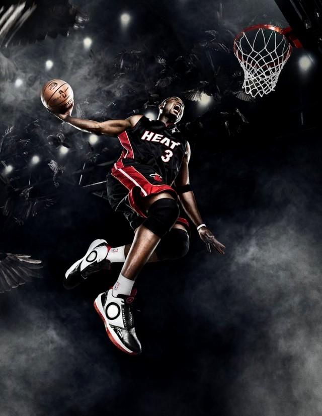 арт фото баскетболиста