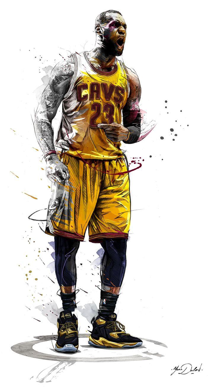 баскетболист арт стильный