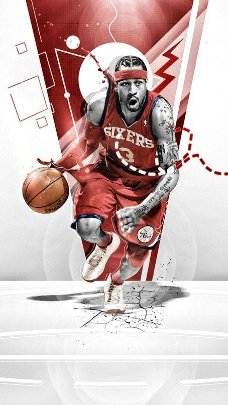баскетболист силуэт красивый