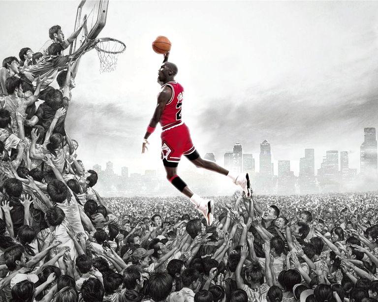 баскетбол силуэт фентези