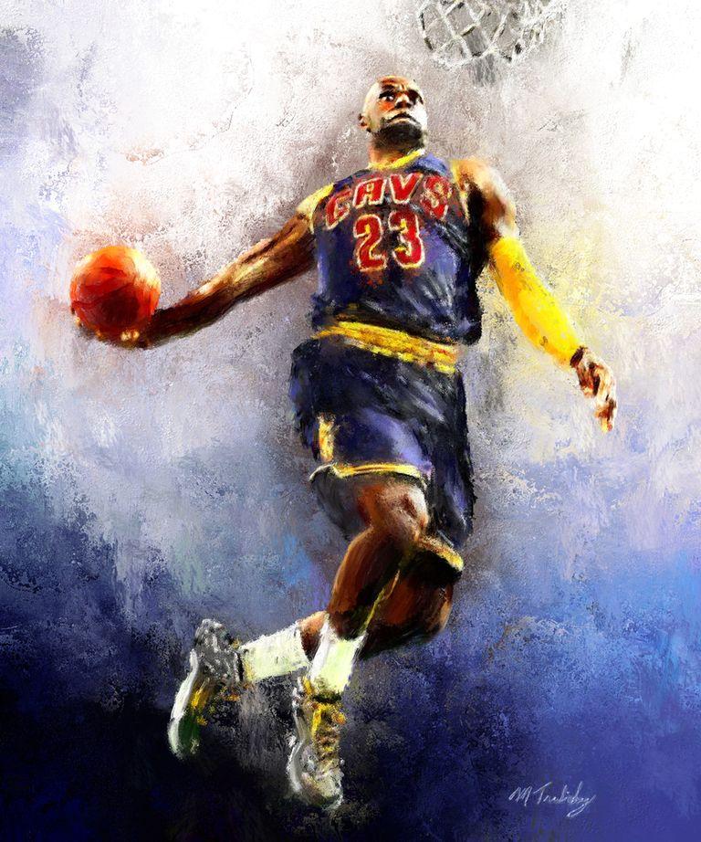 баскет арт яркий