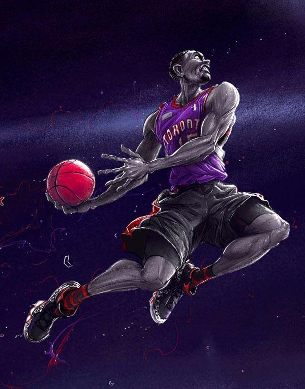 баскет рисунок красивый