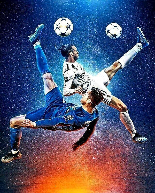 футболист обои яркий