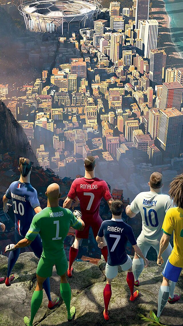 футбол арт красивый