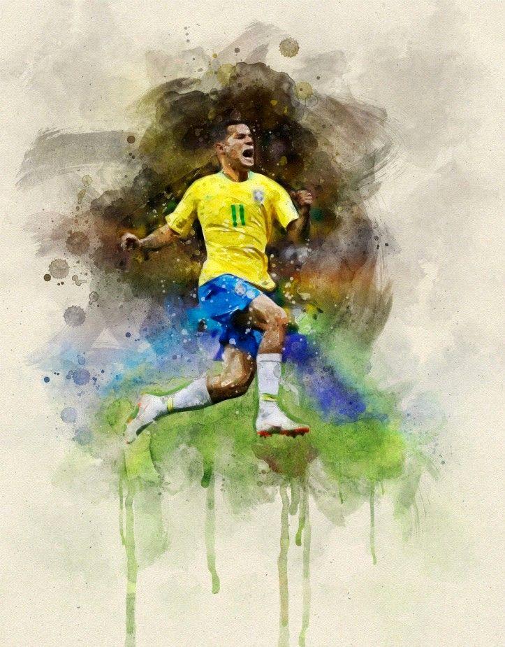 футбол рисунок красивый