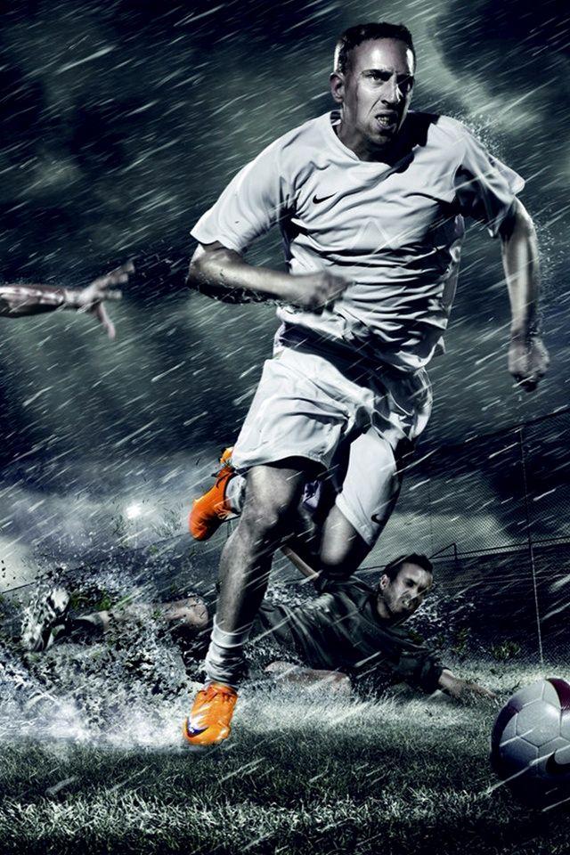 футбол фанарт красивый