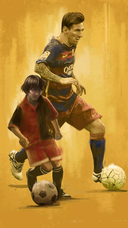 футбол фанарт необычный