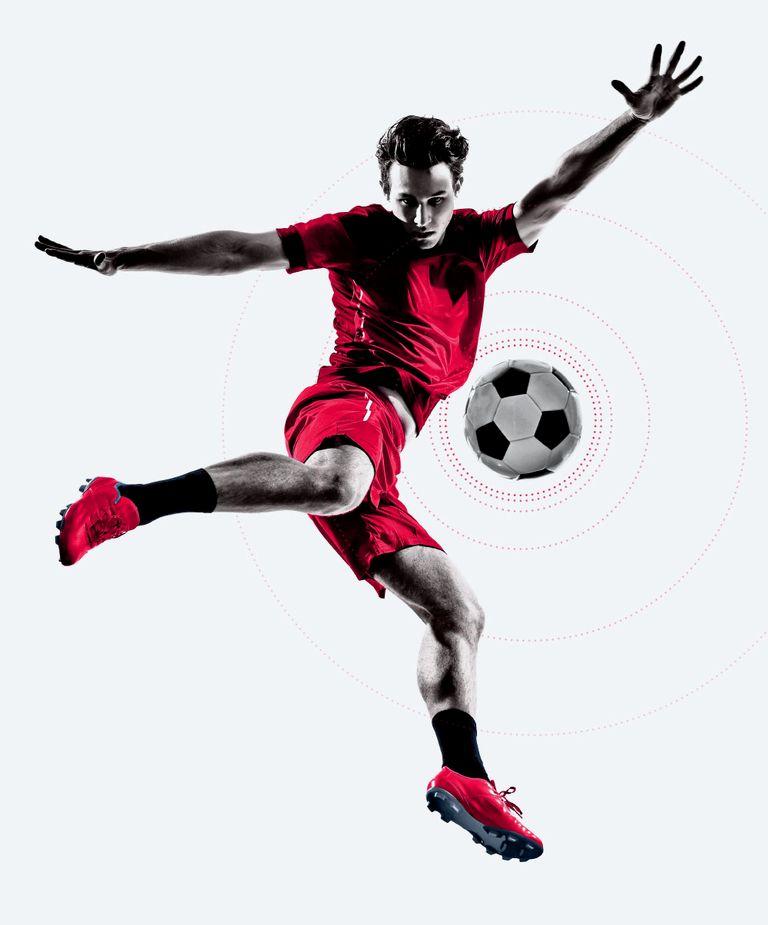 футбол фанарт цветной