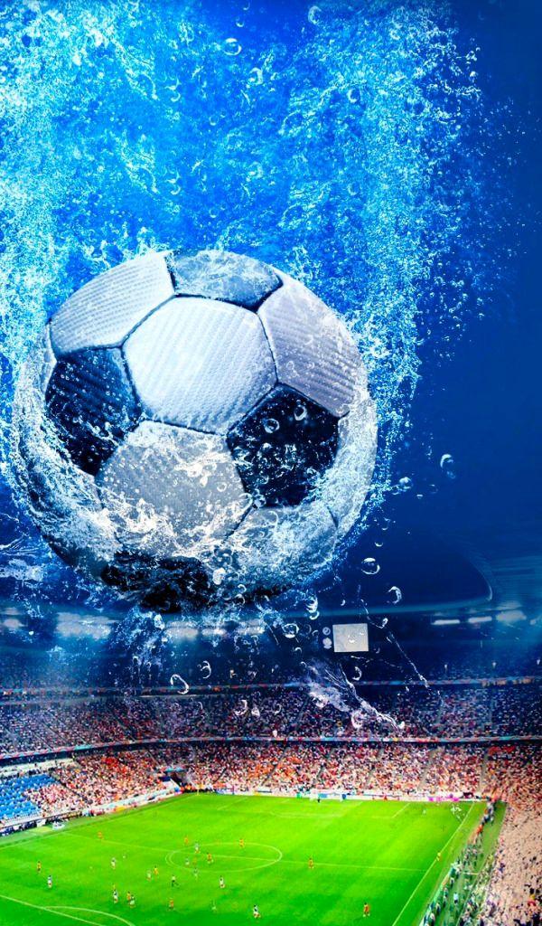 футбол фанарт яркий